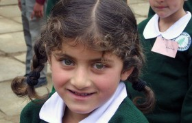 A Fresh Face on the First Day of Banjosa Valley Public School