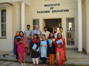 Trainees at the Institute of Teacher Education